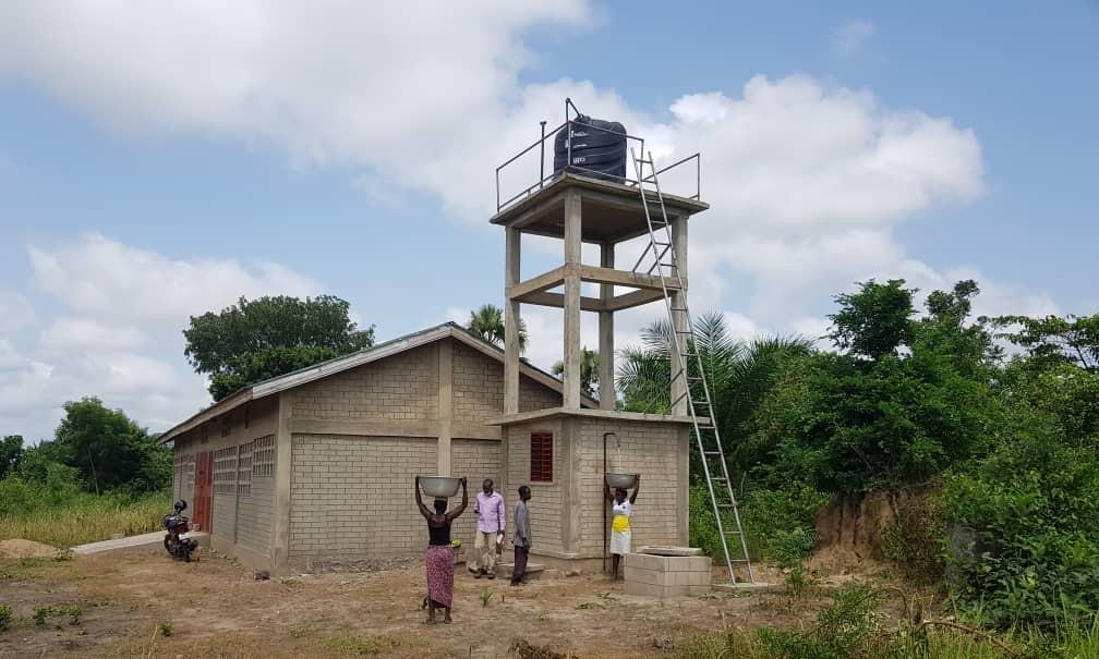 Wasserturm für Glypko